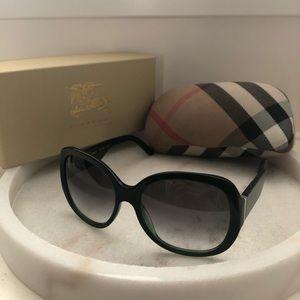 BURBERRY Oversized Sunglasses 55mm